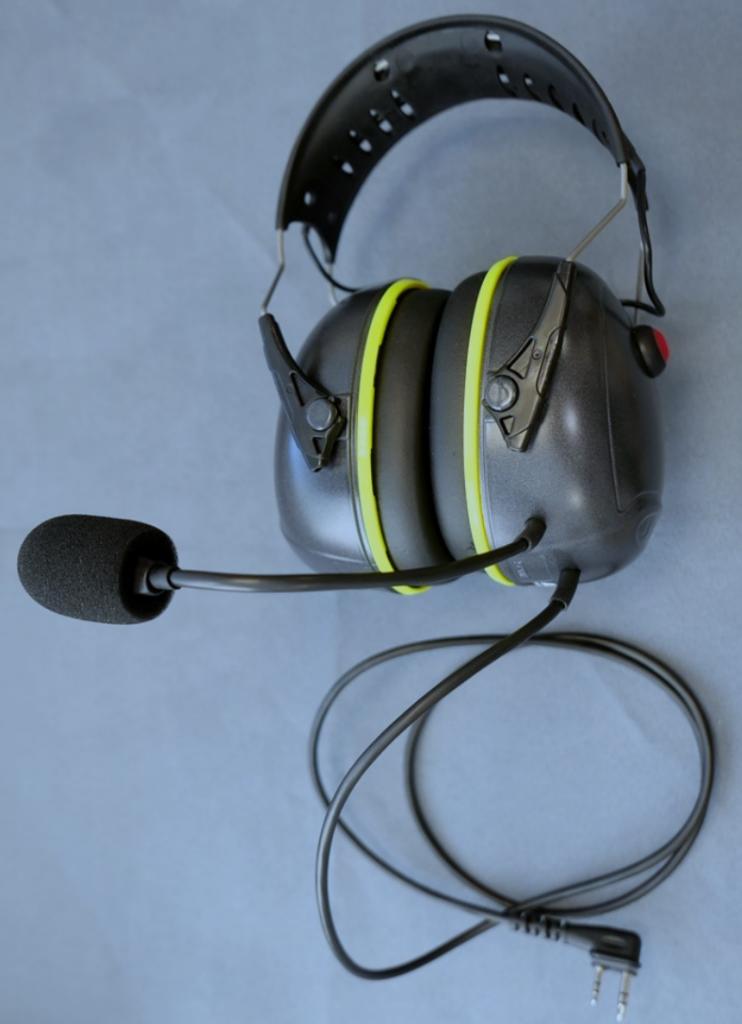 Casque communication pour radio ICOM Réf : ST02