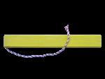 Cale 10x10cm Lg75cm